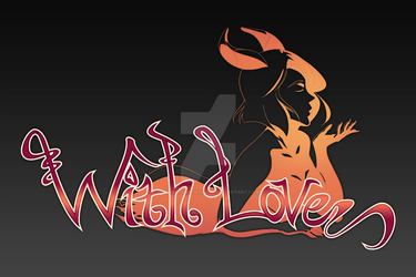 [Commission] With Love Logo by houseofimagistudio