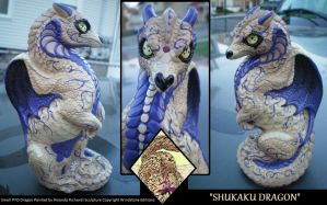 Shukaku Dragon by drag0nfeathers