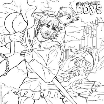 Gay Fairy Tale Pinup Boy by paulypants