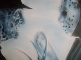 Freddy Vs Jason by Mathius88