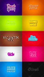 10x Game Logo Text Effect - PSD File by Chankreative