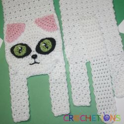 Kitty Cat Crochet Scarf