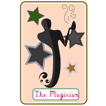 Tarot Cards - The Magician by Dreamy-Ink