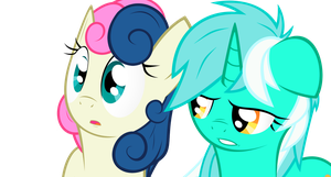 Lyra and Bon-Bon by KANISTORSHIK