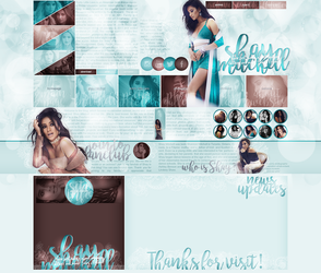 layout ft. Shay Mitchell by Andie-Mikaelson