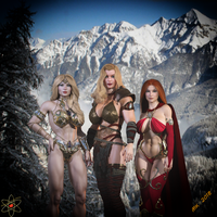Hyborian Trio of Deadly Delights by Lady-Quantum