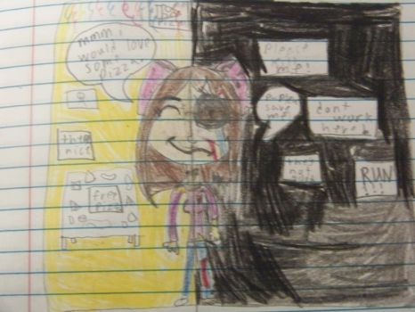 my in five nights at freddys happy to scary by minepearl