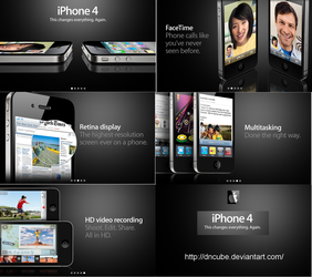 iphone 4 Official Photos by dncube