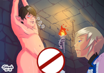FF14 Zepherin x Aymeric in Dungeons SFW by Jiubeck