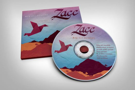 Zacc CD artwork by Northanger