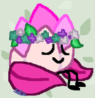 A Flower with a Flower Crown by SmallKittyUniverse