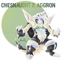 Chesnaught X Aggron
