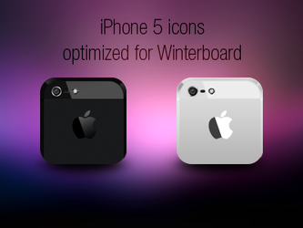iPhone 5 icons by nepst3r