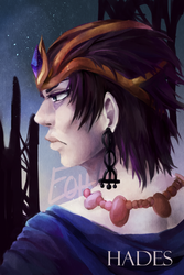 Hades (portrait) by elpisofhope