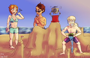 [FUNSUN EVENT] Sand fort battle! by MayStardust