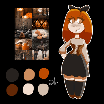 [CLOSED] First Come First Serve FREE Pumpkin Witch by Cutestcomix-inc