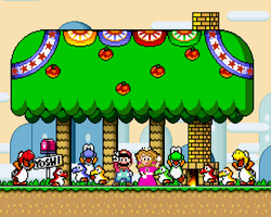 Super Mario World CONCEPT by likelikes