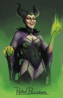 Maleficent by Rachel-Perciphone