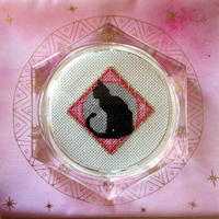 Cat Coaster by pinkythepink