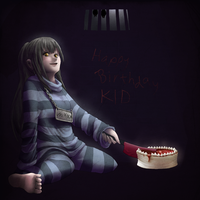 Prisoner and a cake by Kurai-Kaze