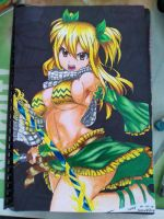 Lucy Heartfilia by baby8stef