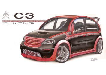 Citroen C3 Tuning by paulodesign