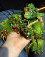 Guldere the luck dragon by MaryBunnie