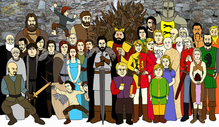 A Game of Thrones by GustavoMorales