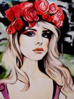 Lana Del Rey Painting by allanahclaire