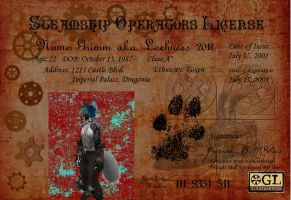 Steamship License by lochness2012