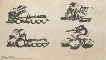 Vehicle Concepts by metalkid