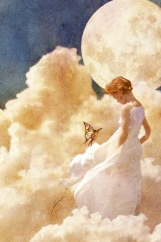 Girl in the Clouds by nendili