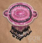 Pink Barrette by GoodQuillHunting