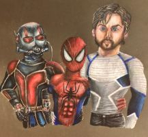 Marvel Heroes by swiftcross