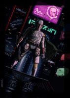 Boba Fett on Coruscant by nbashowtimeonnbc