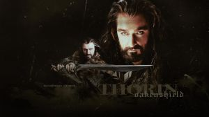 Thorin Oakenshield by BloodyDeath11