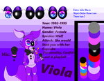 Viola's ref sheet by IharmooXx