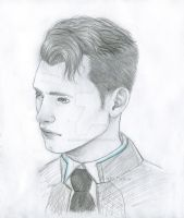Connor - Detroit Become Human by Raven-Punch