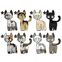 CLOSED Cat Adopts by Thunderfsf