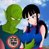 King Piccolo and Chichi part 2 by Shablagoooo