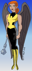 Shayera Beyond? by Lil-Hawk