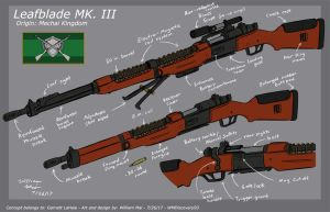 [C] 'Leafblade mk.III' - Concept design by WMDiscovery93