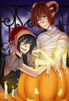 stirling: happy halloween! by caydett