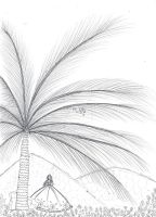Palm tree coloring by paper-eve