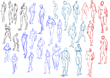 Gesture Studies #1 by Punished-Kom