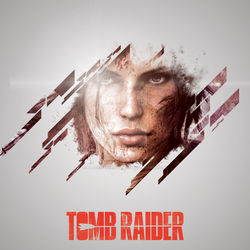 TOMB RAIDER by BlackwaveButterfly