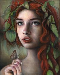 Rowan (Painting) by MichaelShapcott