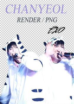 EXO - Chanyeol // Render //  Pack PNG by EXOEDITIONS