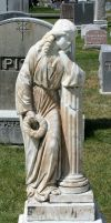 Mount Olivet Cemetery Woman 202 by Falln-Stock