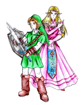 Chosen ones of Time and Destiny by General-Link